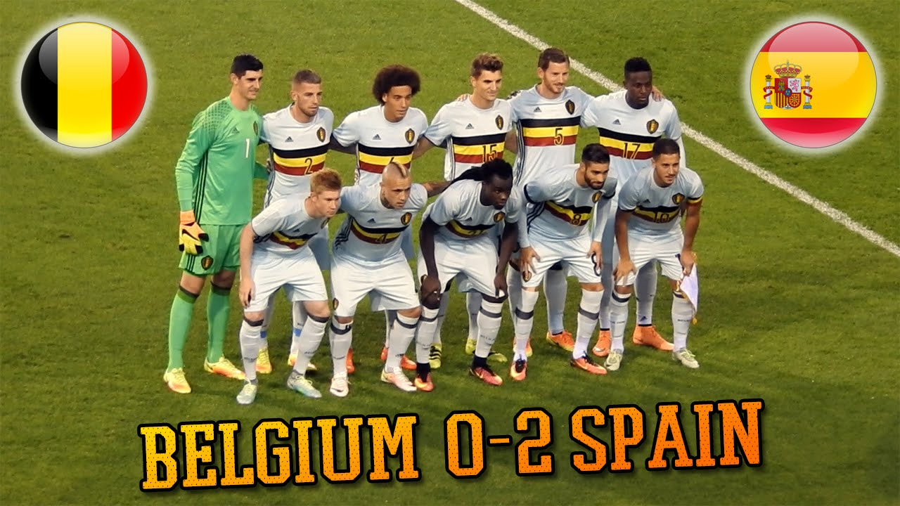 belgique 0-2 espagne