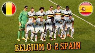 Belgique 0-2 Espagne - Résumé du match (Goals, ambiance,...) - 01/09/2016
