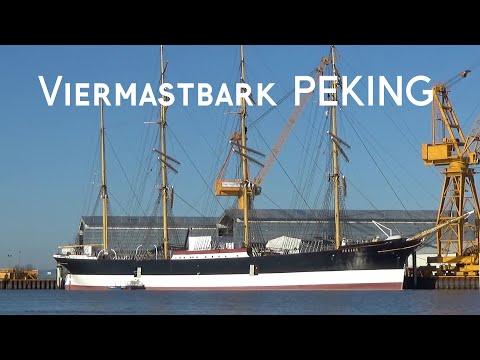 Viermastbark PEKING || Update April 2020 || Traumwetter an der Stör