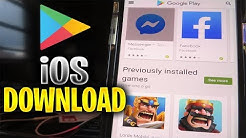 How to Download Google Play Store on iOS,iPhone,iPad ✅ Install Google Play Store on Any iOS DEVICE