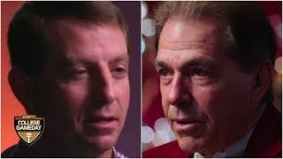 Nick Saban and Dabo Swinney love taking risks, but one play haunts the Bama coach | College GameDay