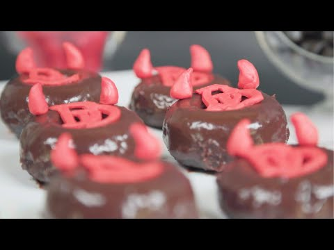 Hell's Kitchen is heating up with these Daredevil Devil's Food Donuts