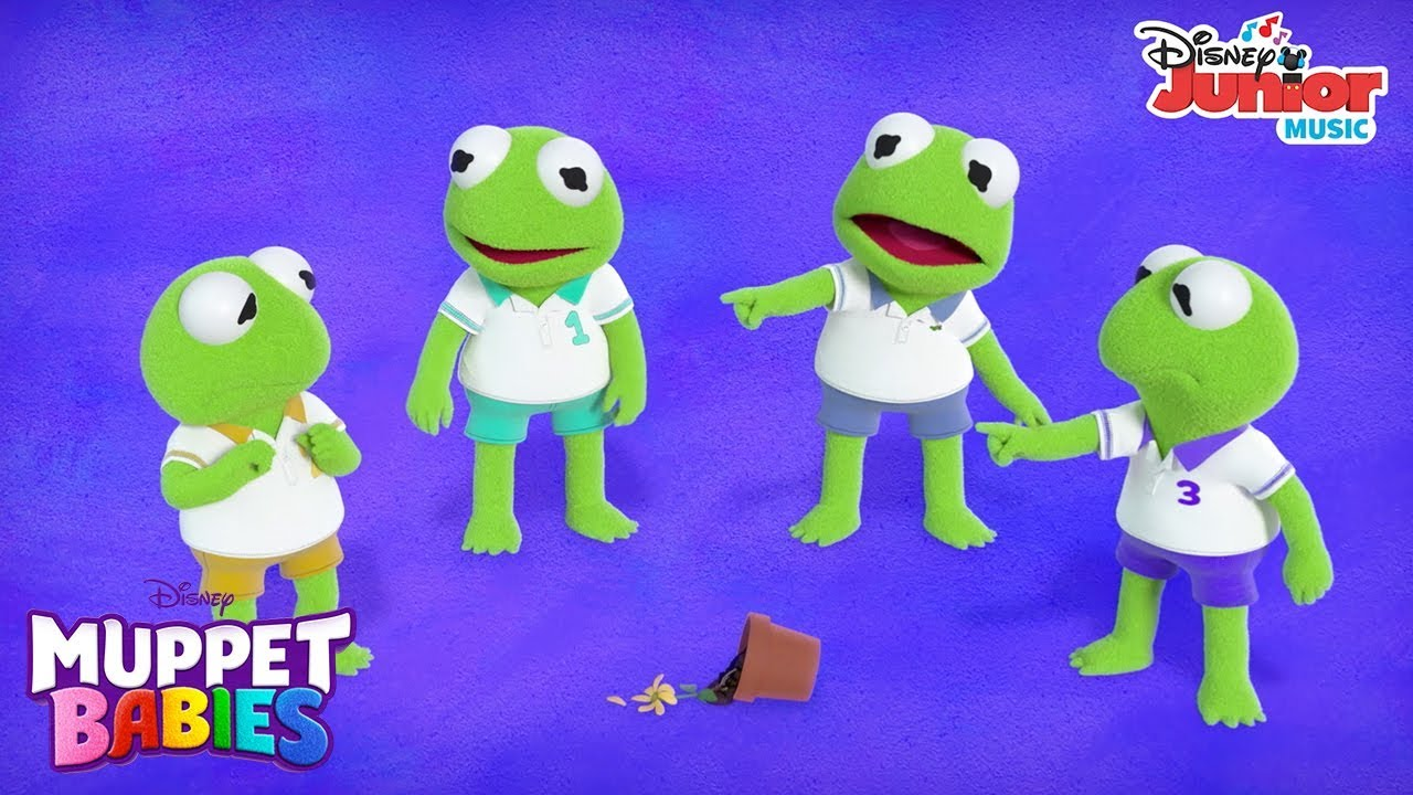 Too Much Me 🐸 Music Video Muppet Babies Disney