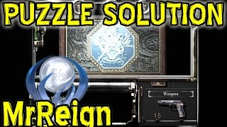 Resident Evil HD Remaster - JEWELRY BOX PUZZLE Solution - Walkthrough