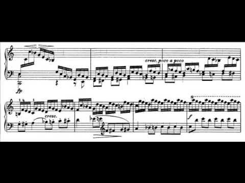 Franz Liszt - Etude S. 136 No.1 (audio + sheet music)