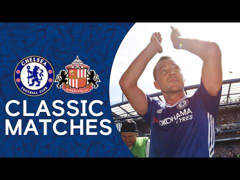 Chelsea 5-1 Sunderland | John Terry's Farewell Game | Premier League Classic 16/17
