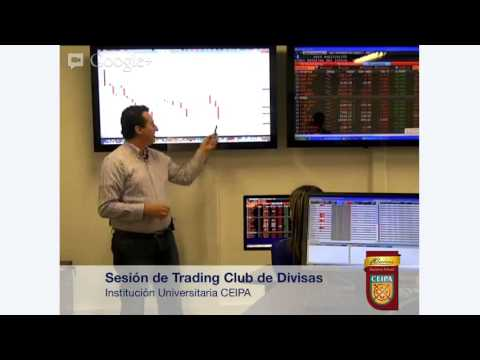 Sesión de trading en vivo Club de Divisas