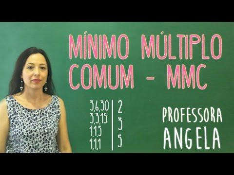 MMC - VIVENDO A MATEMÁTICA COM A PROFESSORA ANGELA