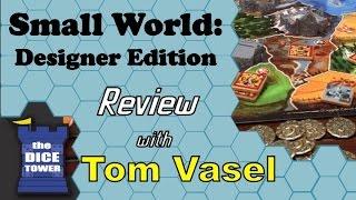 Small World Designer's Edition Review - wtih Tom Vasel