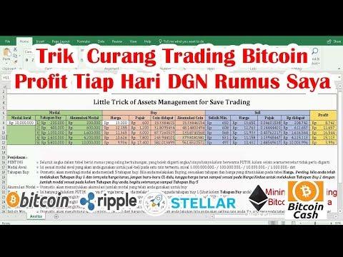 Cara Curang Trading Bitcoin Profit Tiap Hari DGN Rumus  Saya