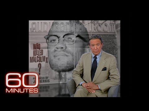 60 Minutes reports on the death of Malcolm X