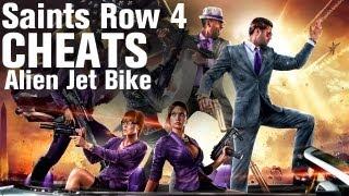 Saints Row 4 Cheats: Alien Jet Bike