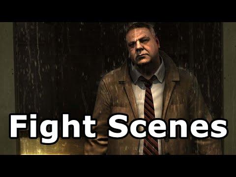 Heavy Rain Remastered - All fight Scenes
