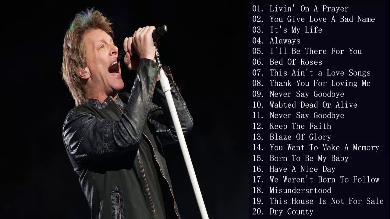 bon jovi the greatest hits (all album) download