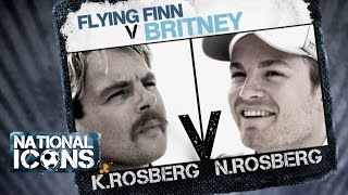 National Icons | RUNS IN THE FAMILY: Keke Rosberg vs Nico Rosberg