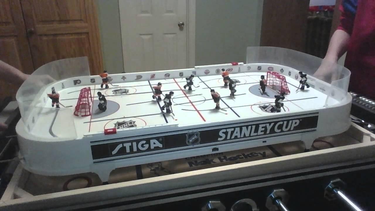 2015 Stiga Rod Hockey Regular Season Matchup - YouTube
