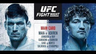 ММА-подкаст №318 - Прогноз на один бой UFC on ESPN+ 20: Maia vs. Askren