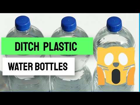 Plastic pollution Why you should ditch plastic water bottles