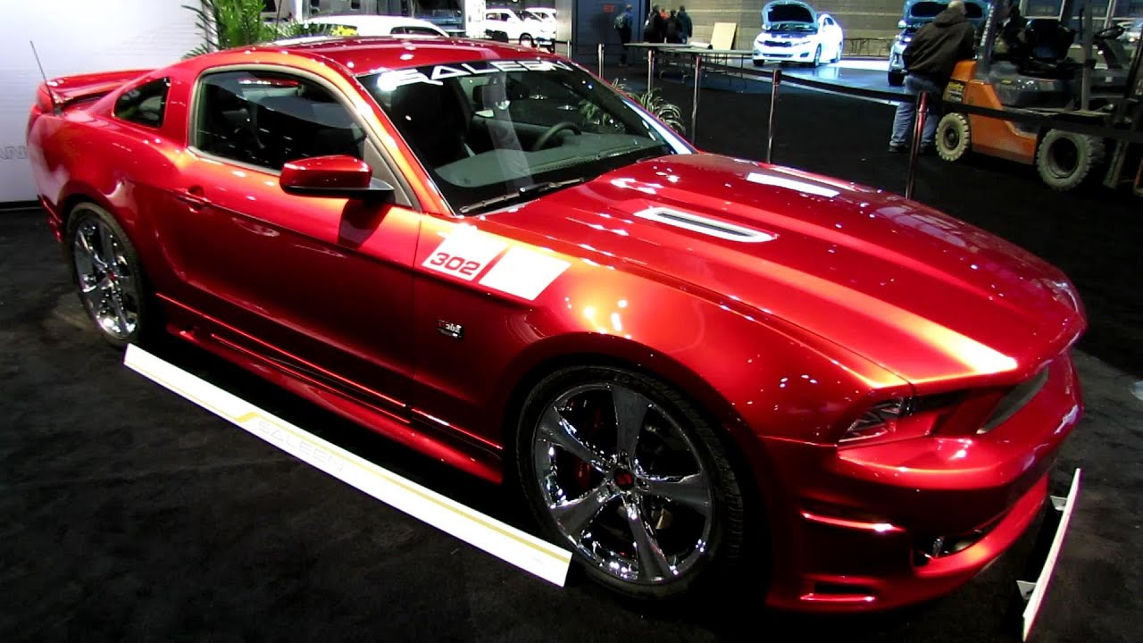 2014 Ford Mustang Saleen 302 Black Label - Exterior and Interior ...