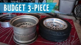 Budget 3 Piece BBS Wheels Build | Part 1: Splitting the 2 Piece Style 5s