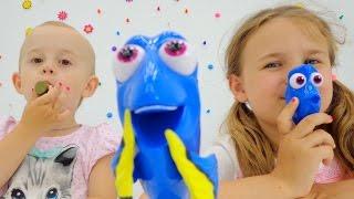Конструктор В ПОИСКАХ ДОРИ мультики для детей и игрушки. Ксюша Дети и Родители