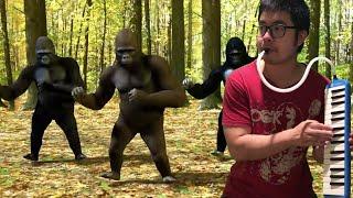 I played Dance Monkey with Dancing Monkeys