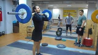 Первая тренировка, в секции Тяжёлой Атлетики) (фрагмент)