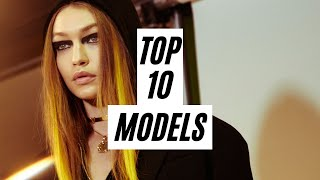 Top 10 Models Fall Winter 2017 Most Opened Shows