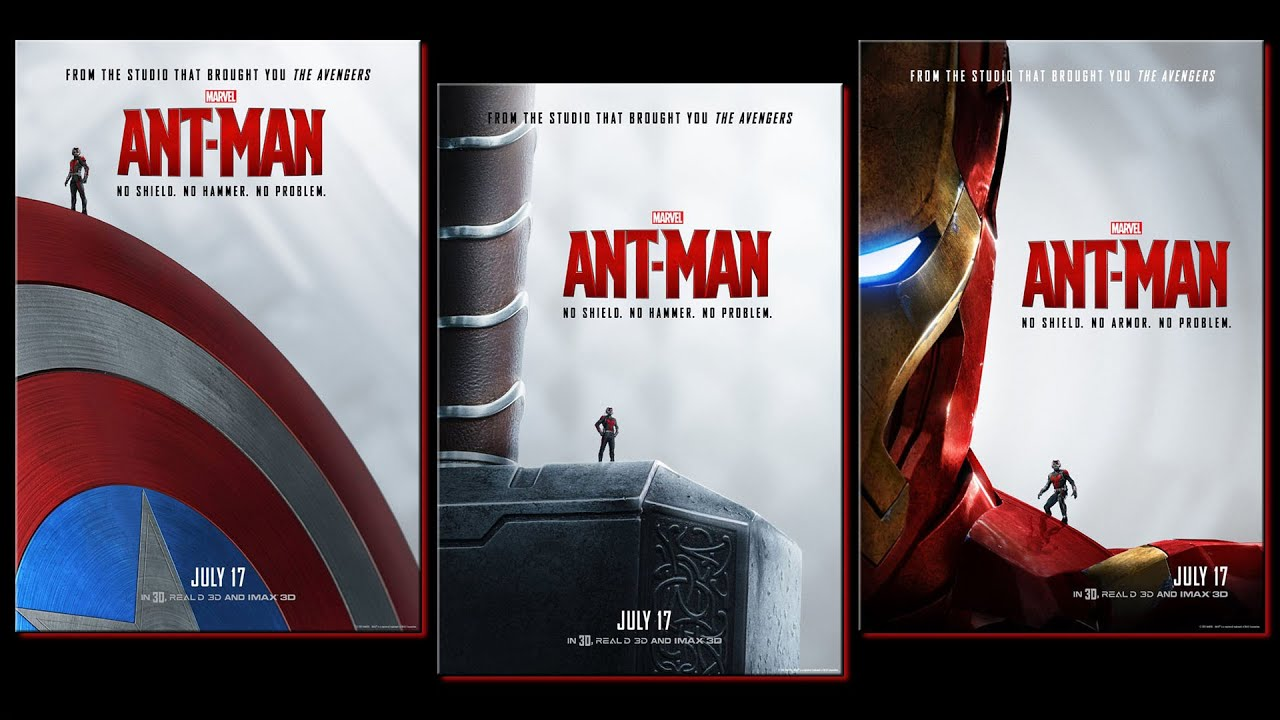 marvel releases new antman posters amc movie news youtube