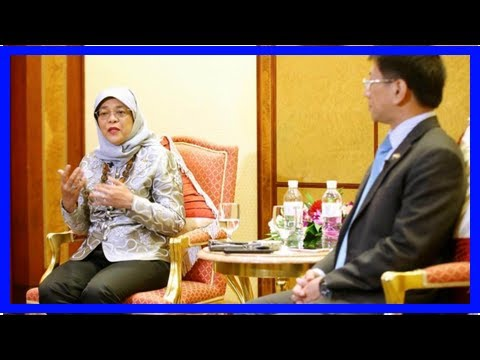 Breaking News | Brunei provides opportunities for Singapore businesses: President Halimah
