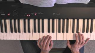 Bach Prelude 1 in C major BWV 846 tutorial pt.1 - spoken lesson- easy fingering