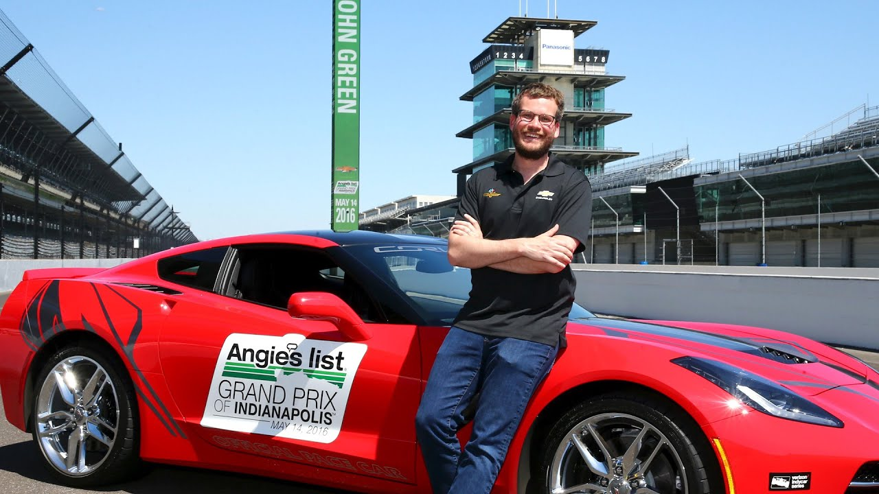 John Green To Drive Angie S List Grand Prix Of Indianapolis Pace Car