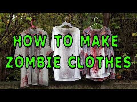 DIY: How To Make Zombie Clothes