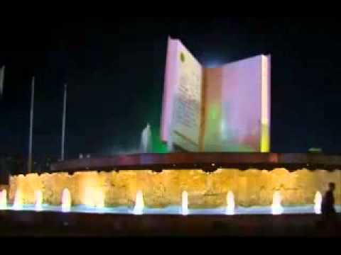 Ruhnama Statue Opening-Turkmenistan