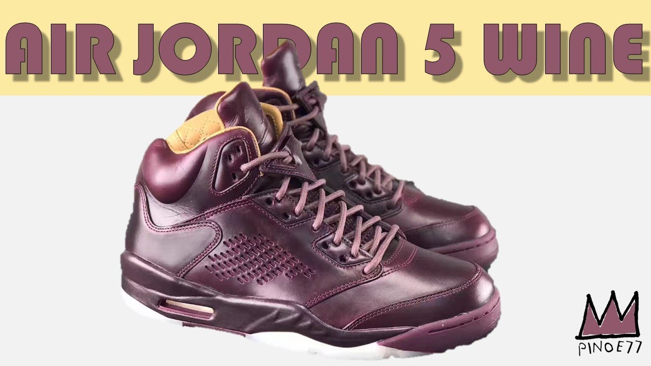 d32ea336532f4 AIR JORDAN 5 PREMIUM WINE