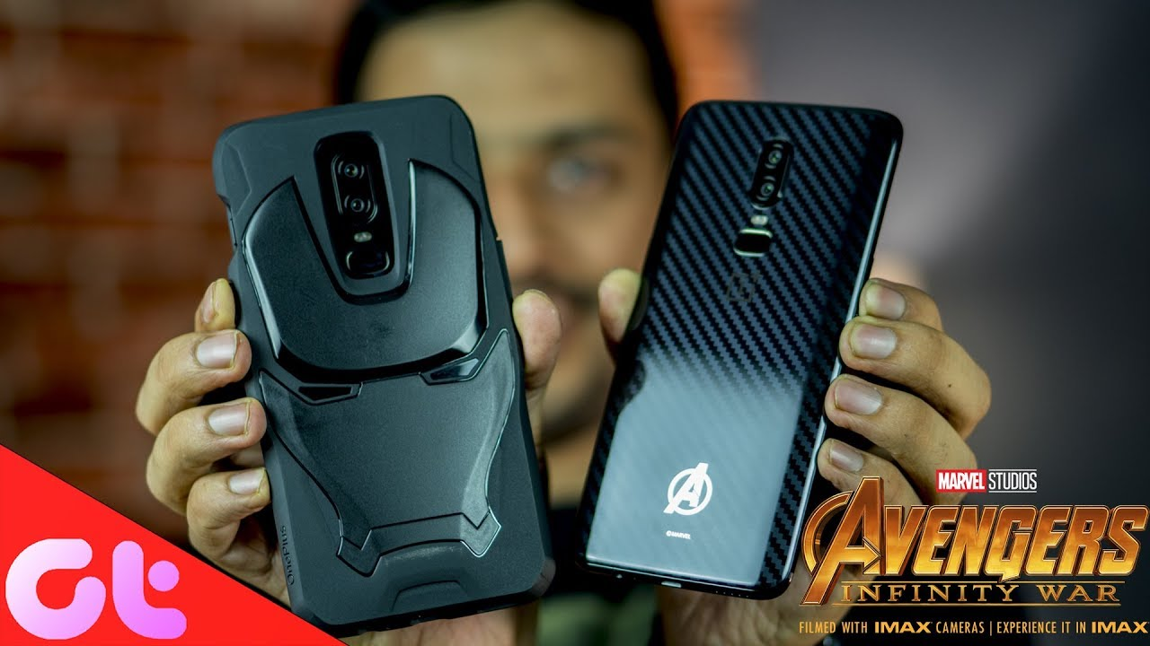 brand new 8a1a3 e2cae OnePlus 6 Avengers Edition vs Mirror Black: Made for Fans? | GT Hindi