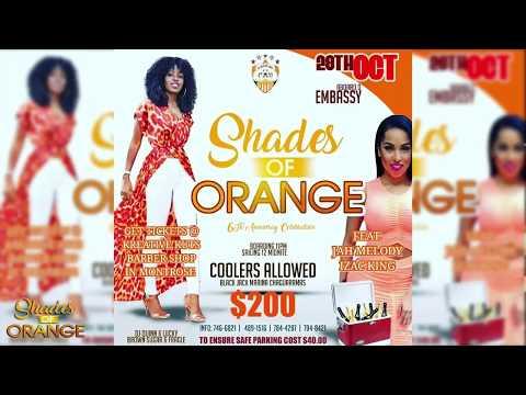 Shades Of Orange Cooler Cruise