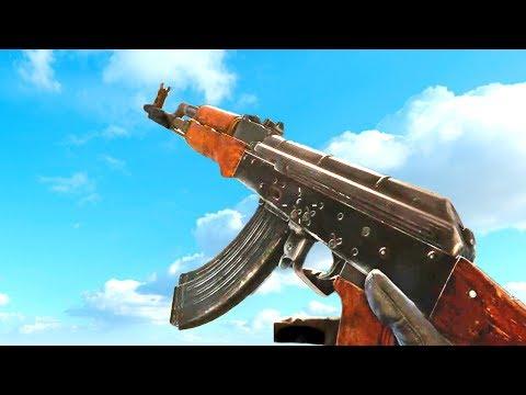 AK-47 : Comparison In 30 Different Games