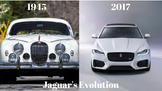 JAGUAR'S EVOLUTION | 1945-2017 | THE CAR CHANNEL