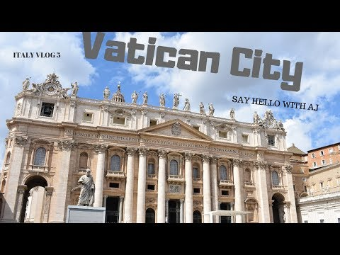 Travel Vlog/ Vatican City ,  Sistine Chapel & St Peter's Basilica