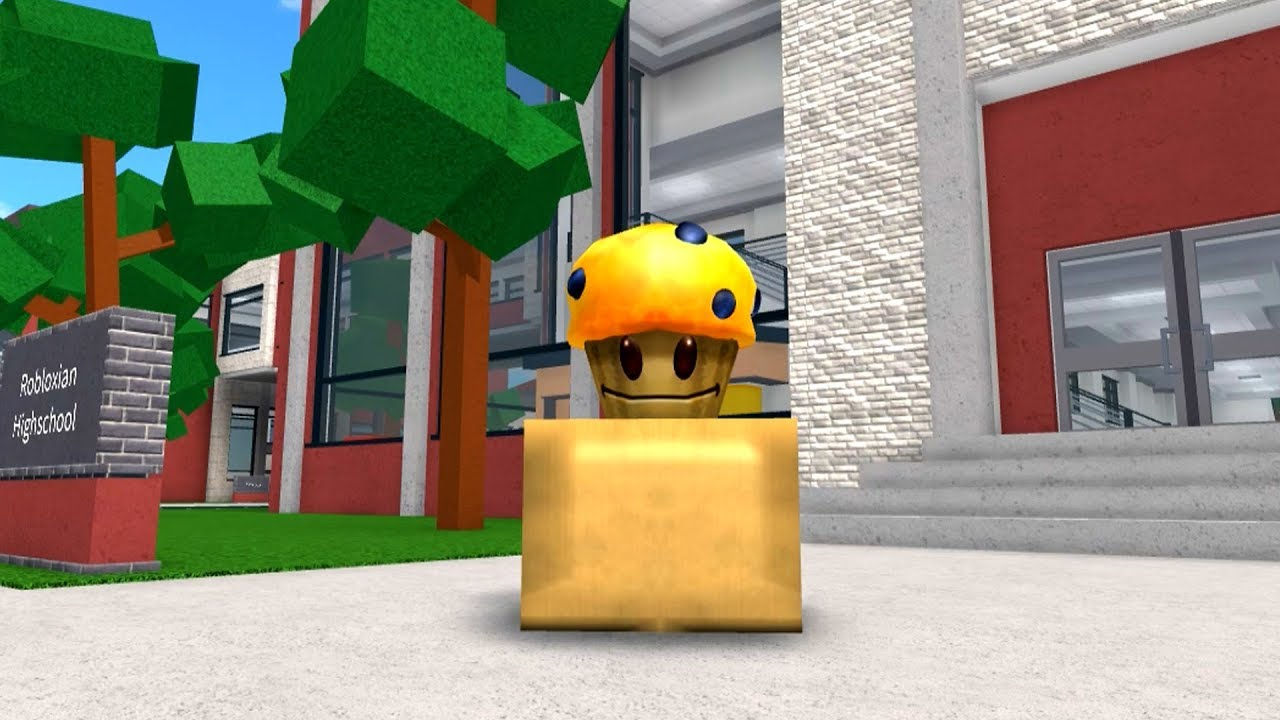 Video HOW TO BE A MUFFIN IN ROBLOXIAN HIGHSCHOOL!!