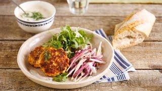 Alpro Recipe - Salmon Delight Burger