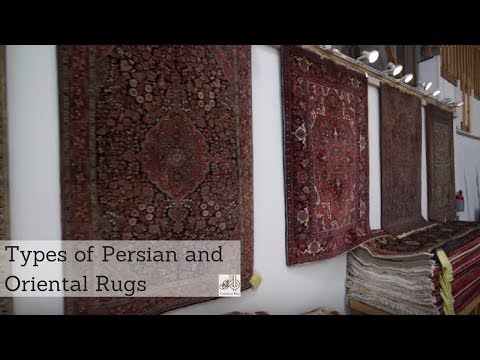 Types of Persian and Oriental Rugs (Explained with Previews)