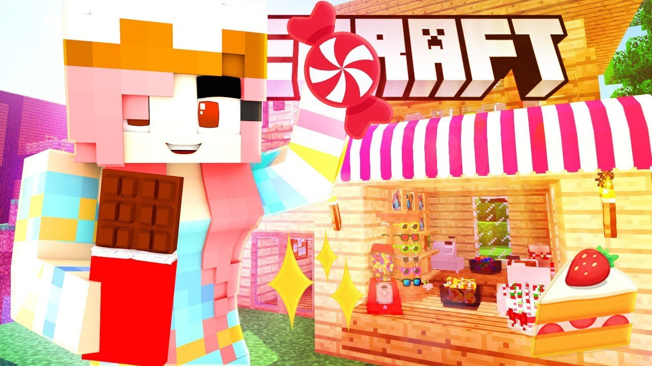 THE NEW CANDY SHOP IN TOWN! GUESS WHO'S BACK?| Krewcraft Minecraft Survival | Episode 15
