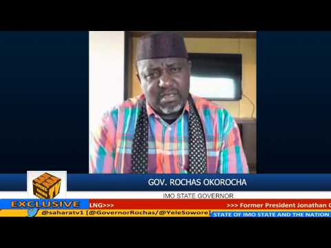 """""""If President Buhari Said He Will Recover Looted Funds, Then He Will"""" -ROCHAS OKOROCHA"""