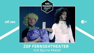 ZDF Fernsehtheater mit Bjarne Mädel | NEO MAGAZIN ROYALE mit Jan Böhmermann - ZDFneo