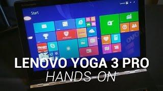 Lenovo YOGA 3 Pro Hands-On