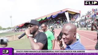 2FACES PERFORMANCE AT TESTIMONIAL FOOTBALL MATCH FOR AMBODE