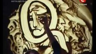 Wonderful Art Video of Kseniya Simonova who just won Ukraine's version of