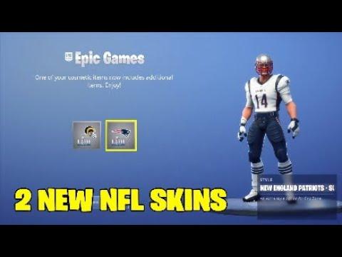 Download Fortnite new skins.2 NEW FREE NFL SKINS - SUPER BOWL SKINS